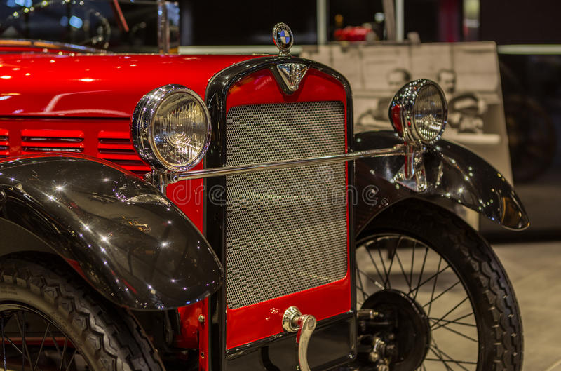 Vintage Classical BMW royalty free stock images