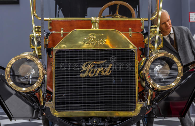 Vintage Classical Ford stock images