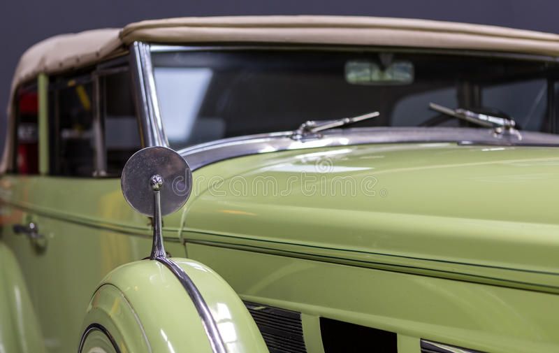 Vintage Classical Packard stock photography