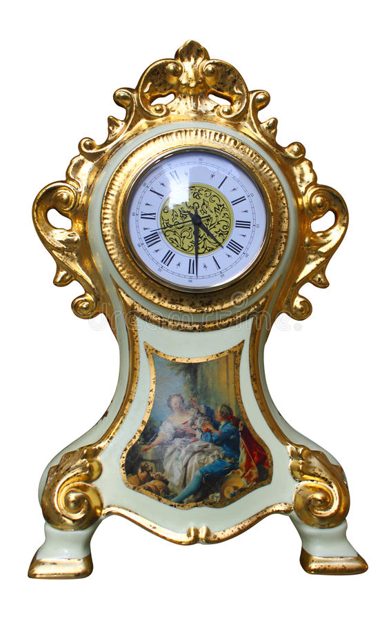 Free Vintage Clock Royalty Free Stock Images - 19104119