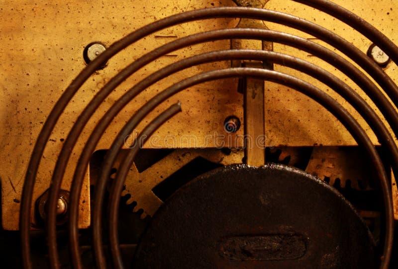 Vintage clock. A lovely vintage clock of the Art Deco era stock image