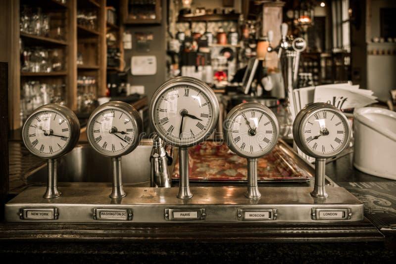 Vintage clocks royalty free stock images