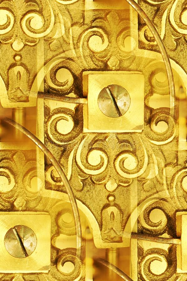 Vintage clockworks abstract royalty free stock photo