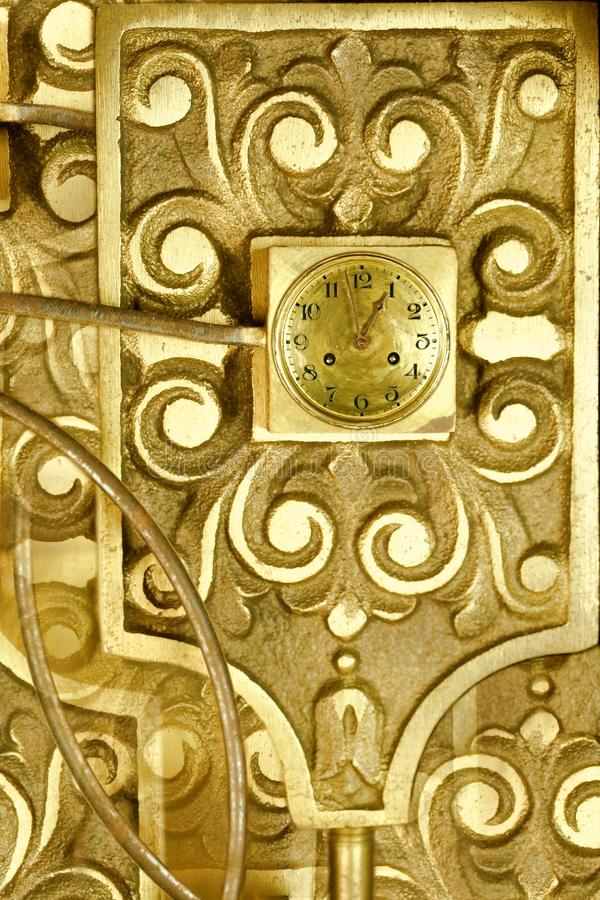 Vintage clockworks abstract design royalty free stock photo