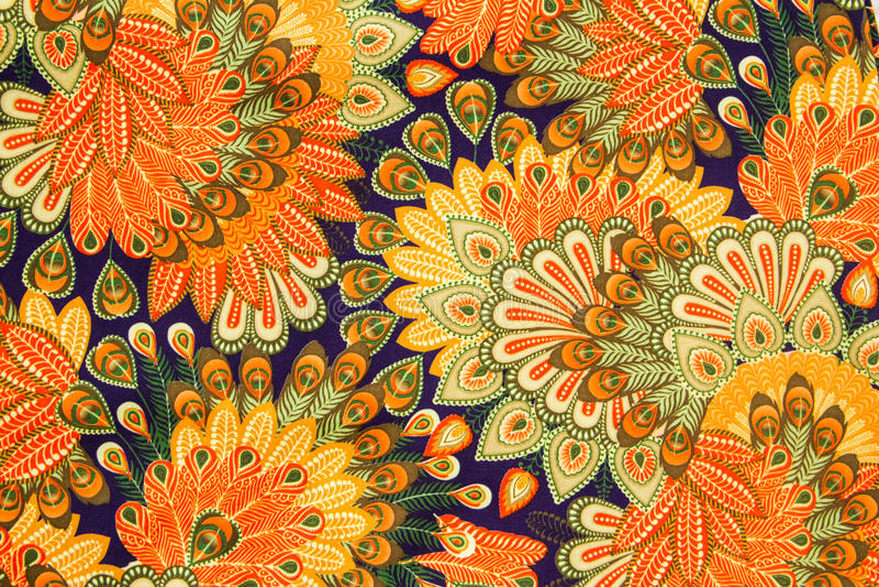Vintage cloth pattern stock photo