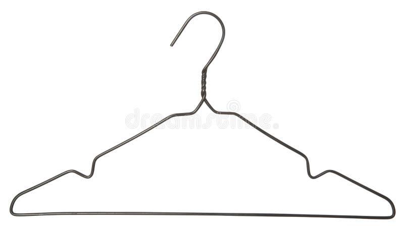Vintage Clothes Hanger stock images