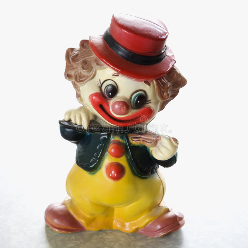 Free Vintage Clown Figurine. Royalty Free Stock Photography - 2425537