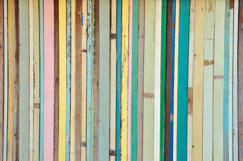 Vintage color wood background royalty free stock photos