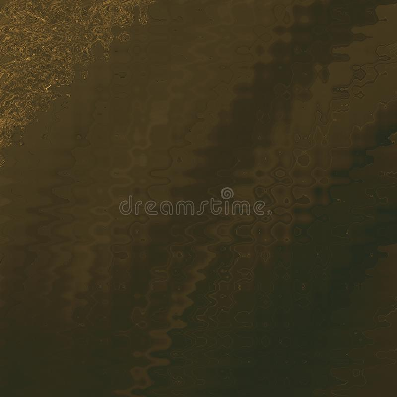 Vintage colored board with golden strokes. closeup art. Wooden texture sheet. royalty free stock photo