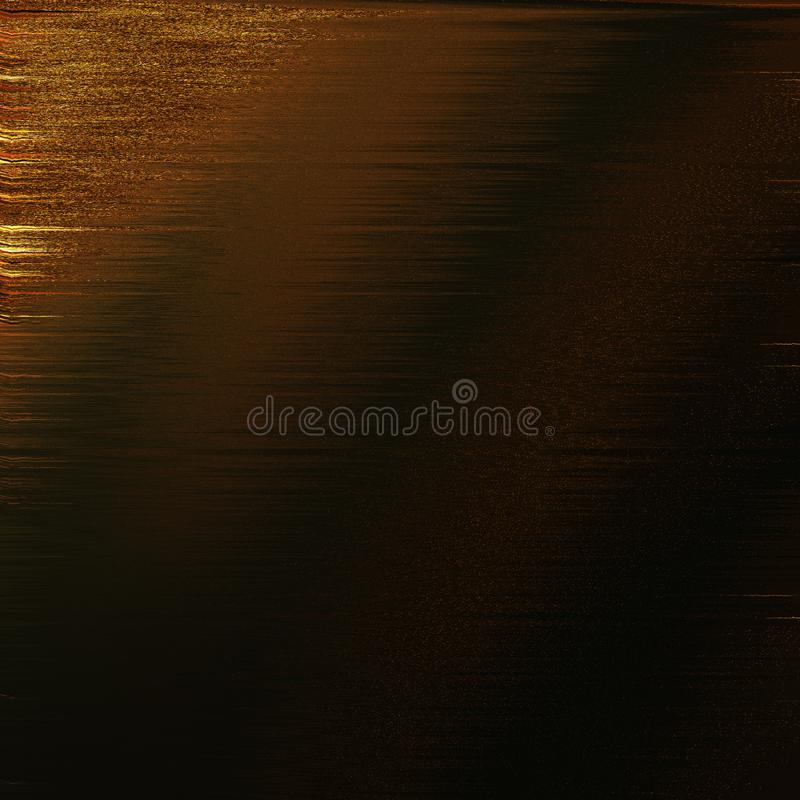 Vintage colored board with golden strokes. closeup art. Wooden texture sheet. royalty free stock photography