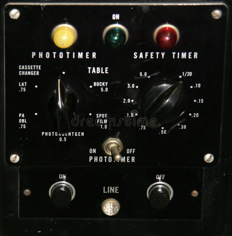 Vintage control panel royalty free stock photo