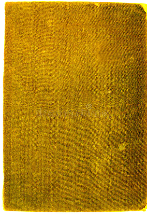 Vintage cover #7. Golden cover stock photography