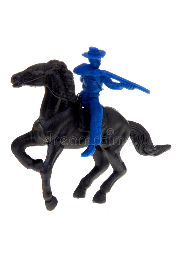 Download Vintage Cowboy Toy stock photo. Image of horse, indian - 2181474
