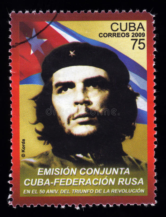 Download Vintage Cuba Postage Stamp Che Guevara Stock Photo - Image: 17816914