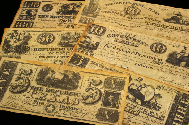 Download Vintage Currency stock image. Image of dollars, republic - 745475