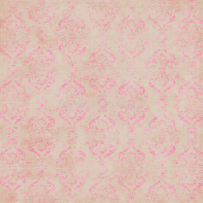 Download Vintage Damask Wallpaper stock image. Image of abstract - 4344019