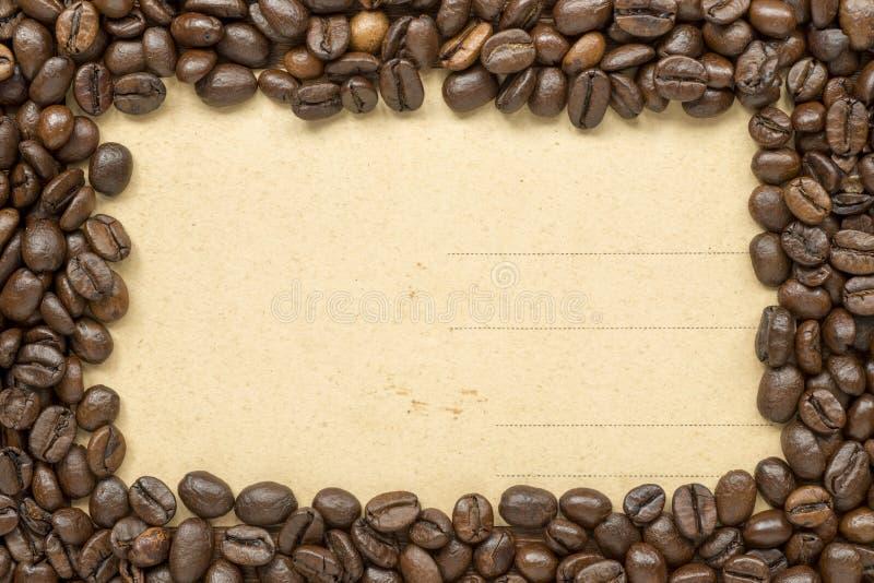 Vintage de cadre de café photos stock