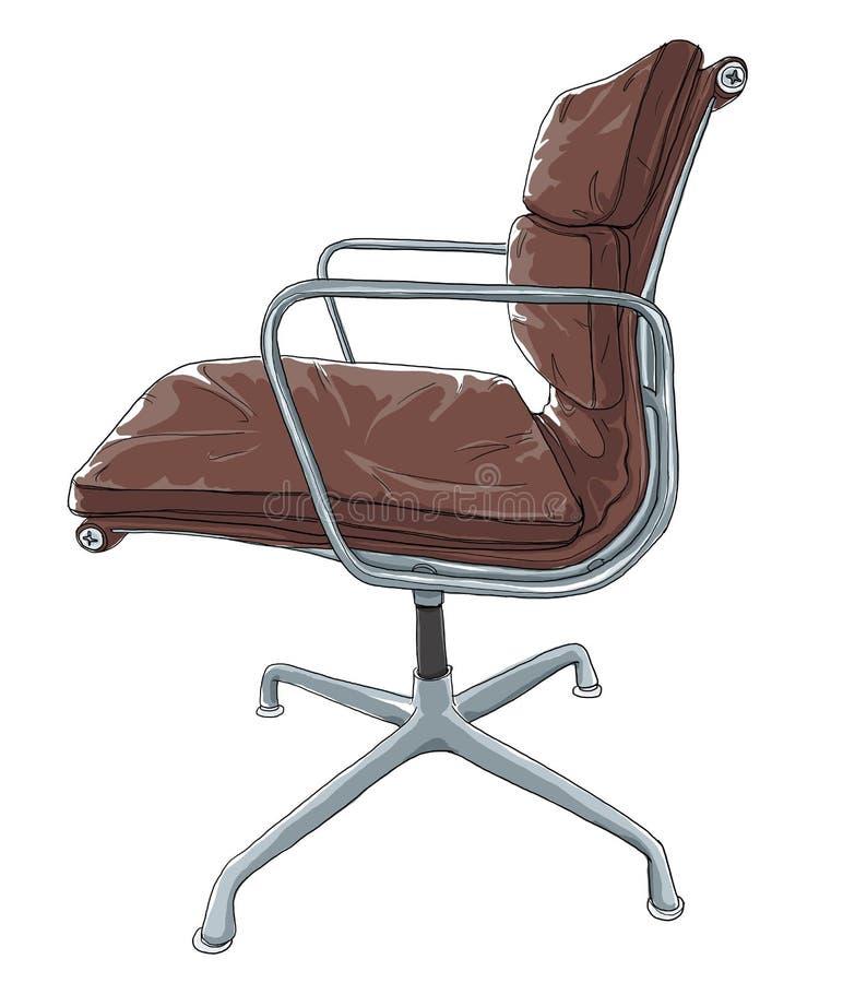 Vintage de la silla libre illustration