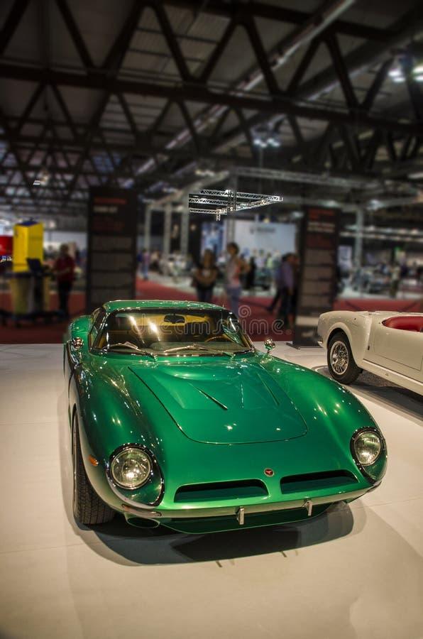 Vintage de Maserati fotografia de stock