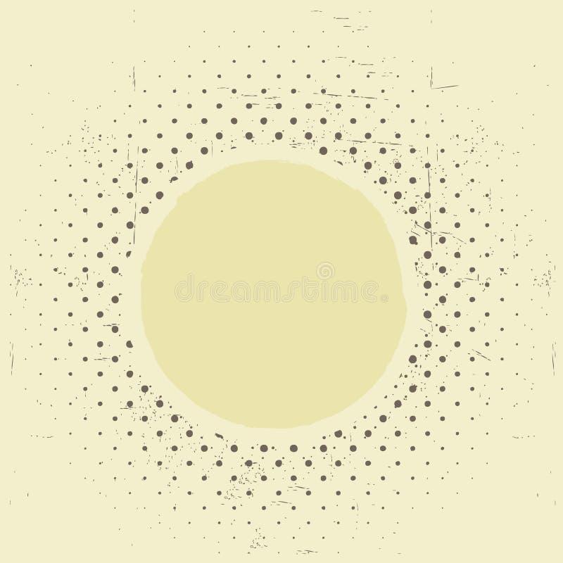 Vintage de papier grunge de texture illustration de vecteur