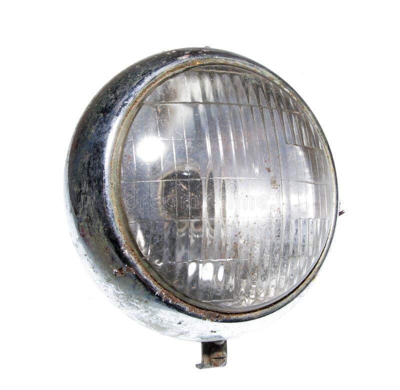 vintage de phare de phares de voiture d 39 isolement photo. Black Bedroom Furniture Sets. Home Design Ideas