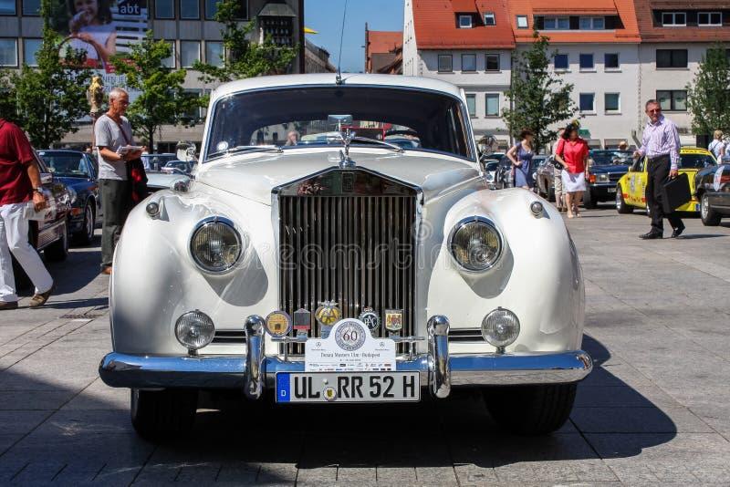 Vintage de Rolls Royce foto de stock royalty free