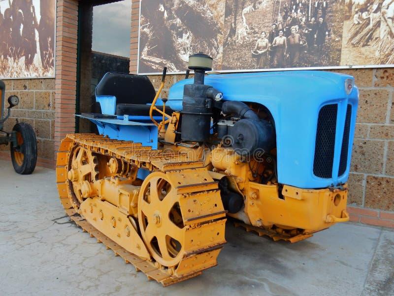 Vintage de tracteur de Landini photos stock