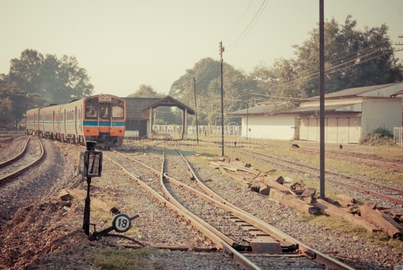 Vintage de train photographie stock libre de droits