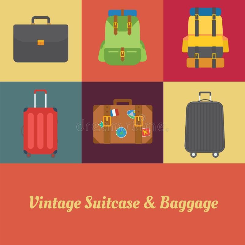 Vintage de valise photos libres de droits