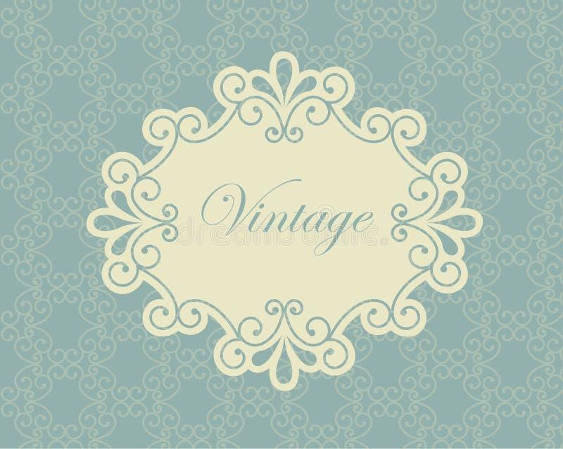 Vintage de vue illustration stock