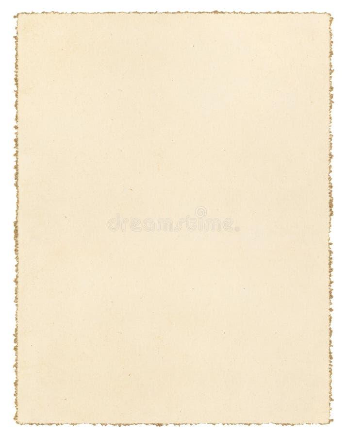 Download Vintage Deckled Paper Stock Photo. Image Of Decorative   37203804