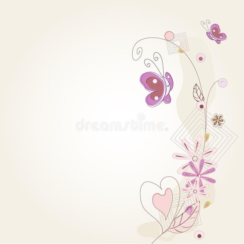 Download Vintage Decorative Background Stock Vector - Image: 21563292