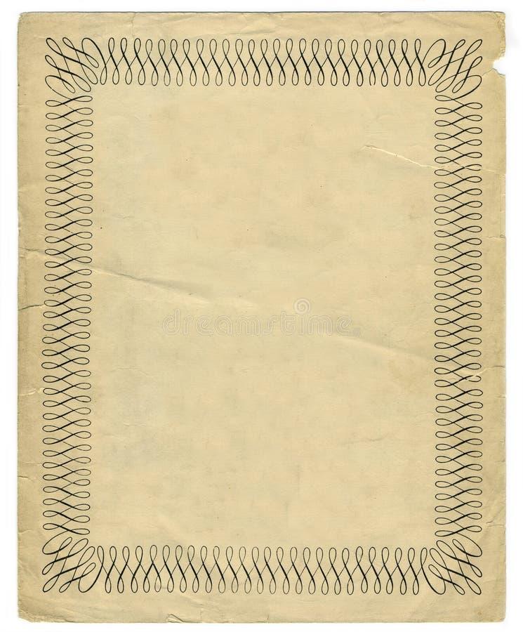 Download Vintage Decorative Border Design Royalty Free Stock Images - Image: 4054679