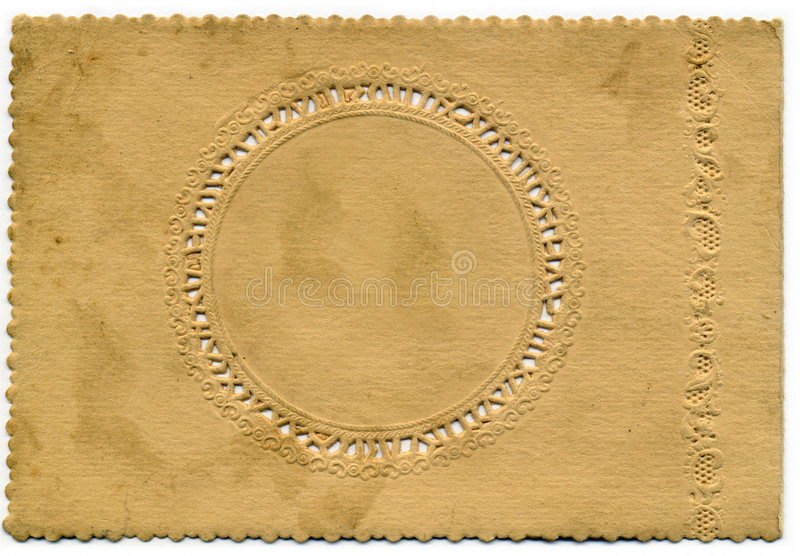 Vintage Decorative card background royalty free stock photo