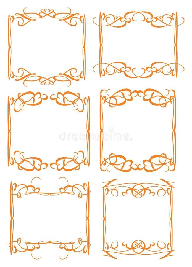 Download Vintage Decorative Design Border Stock Vector - Image: 33449815
