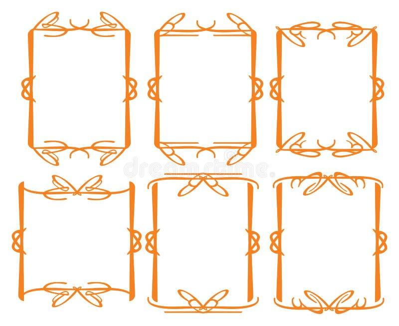 Download Vintage Decorative Design Border Stock Vector - Image: 33449866