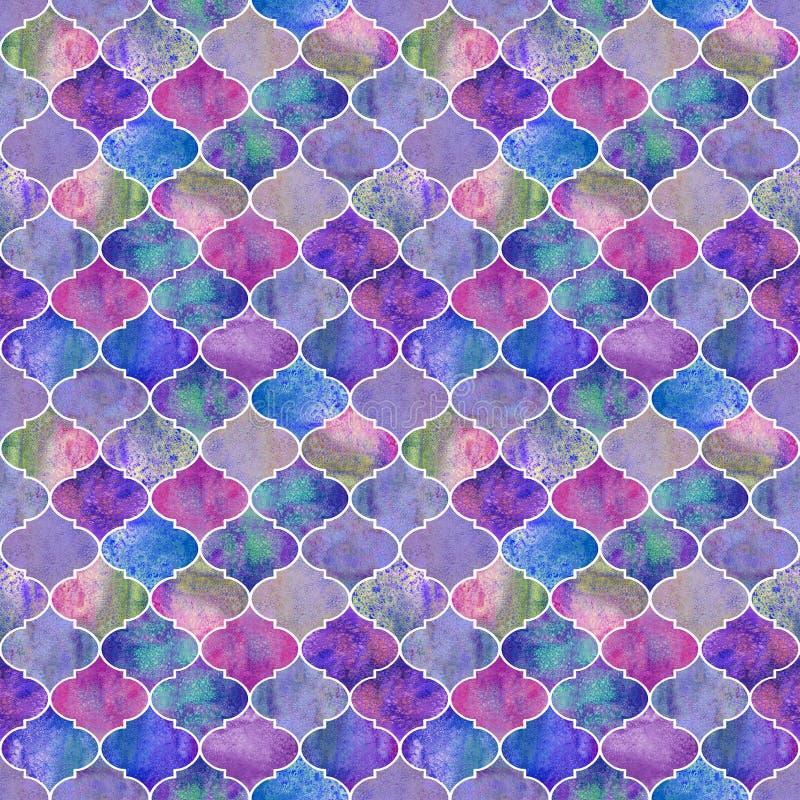 Vintage decorative moroccan seamless pattern. royalty free stock photo