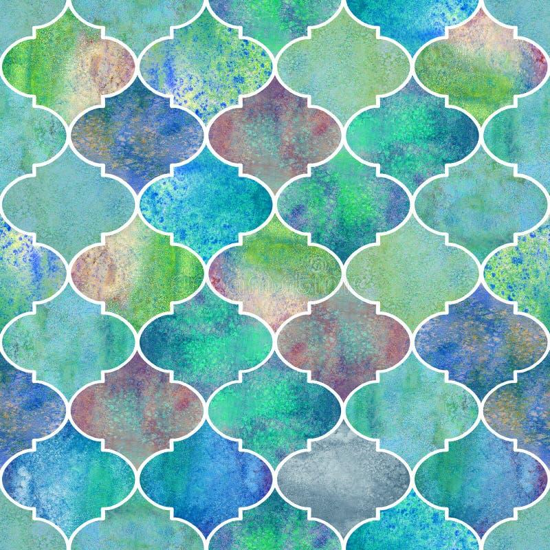 Vintage decorative moroccan seamless pattern. stock illustration