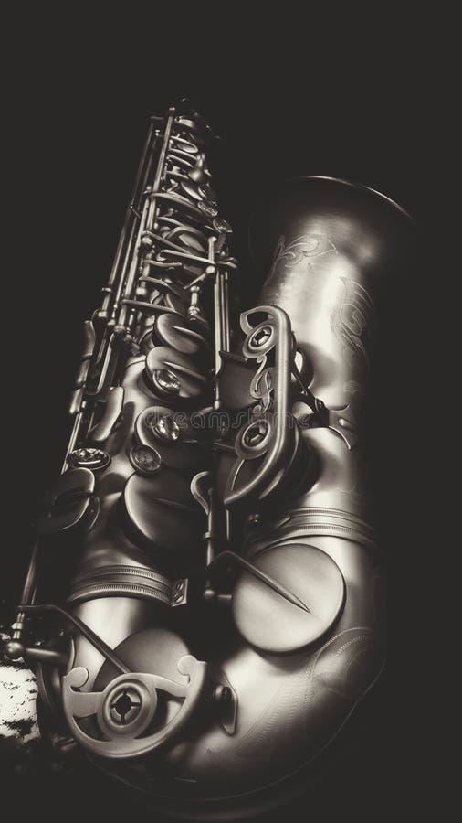 Vintage del saxofón imágenes de archivo libres de regalías