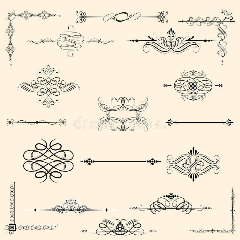Vintage Design Element vector illustration