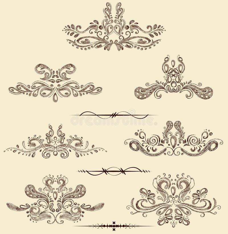 Vintage Design Element royalty free illustration