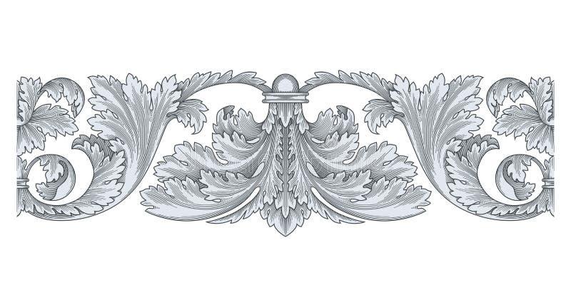 Vintage Design Element vector 1007 royalty free illustration