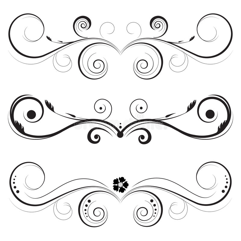Download Vintage designs vector stock vector. Illustration of flourishes - 8617281