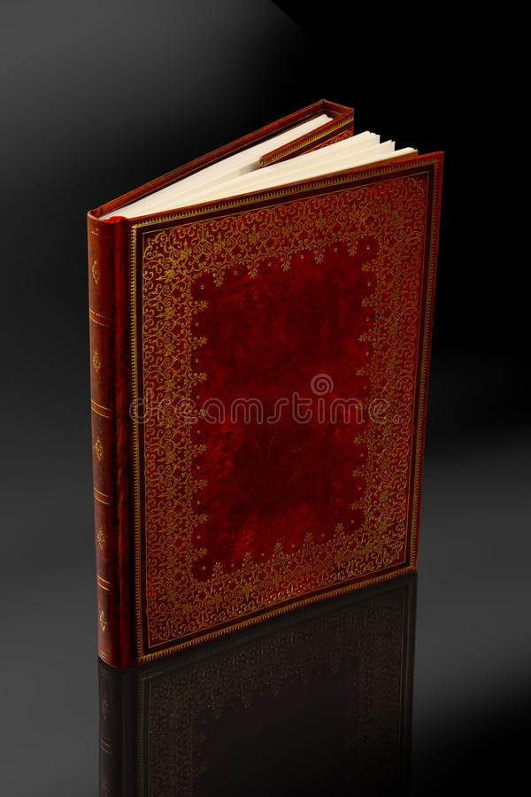 Vintage diary book with clipping path royalty free stock photos