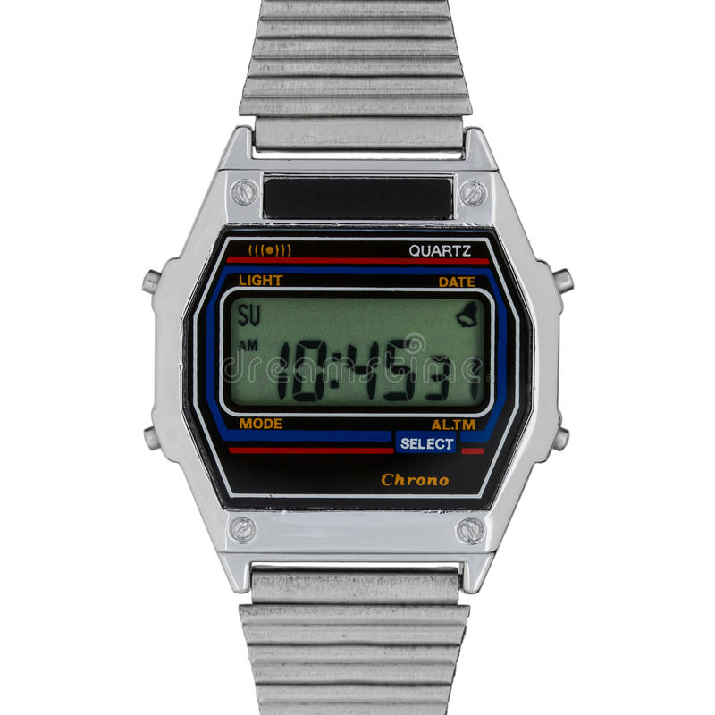 Free Vintage Digital Watch Stock Image - 24288211