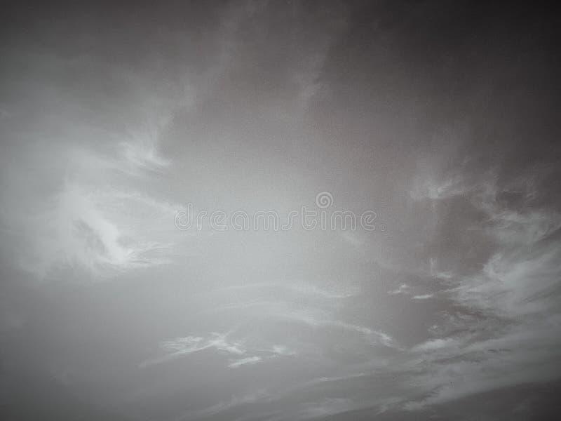 vintage do céu e tom retro da cor imagem de stock royalty free