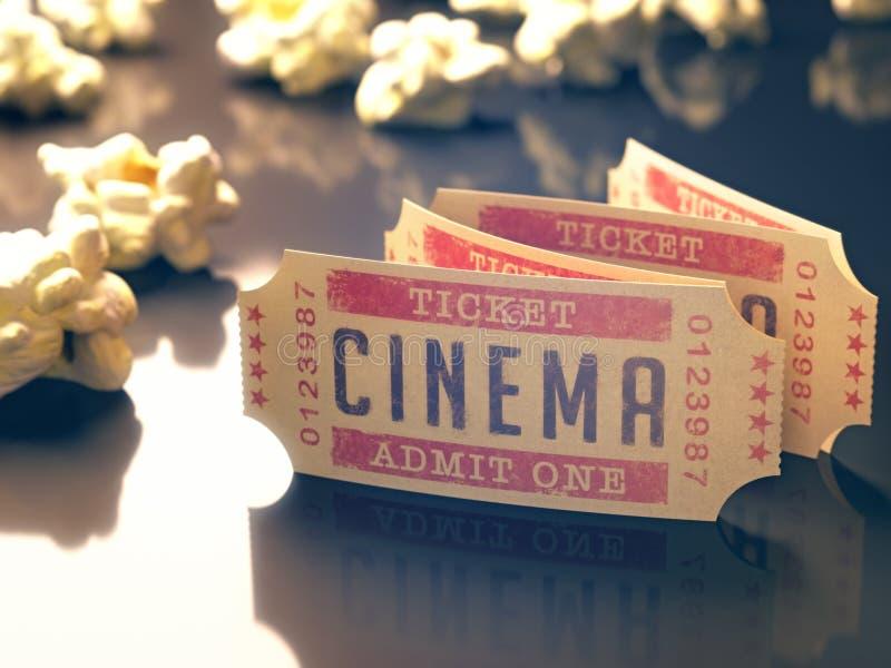 Vintage do cinema fotos de stock royalty free
