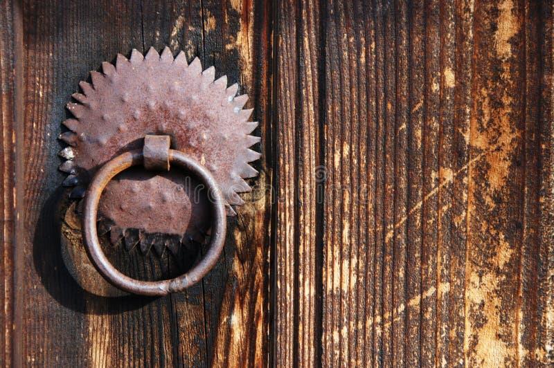 Vintage door handle royalty free stock photos