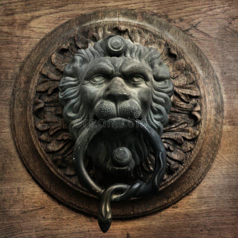 Download Vintage doorknocker stock photo. Image of door, sepia - 39502030