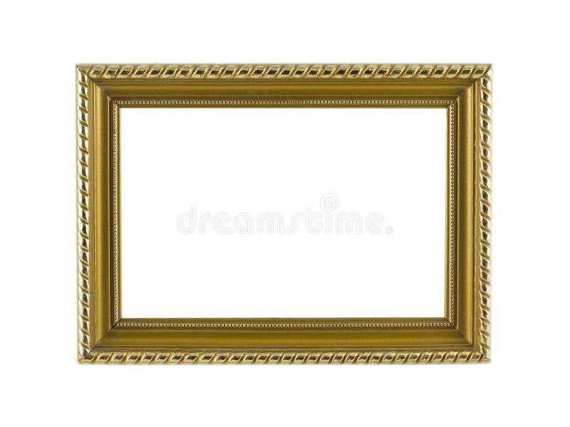 Vintage dourado do quadro imagens de stock royalty free